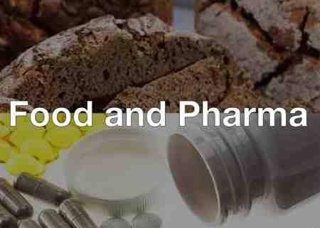 Food, Pharma and Cosmetics Industry