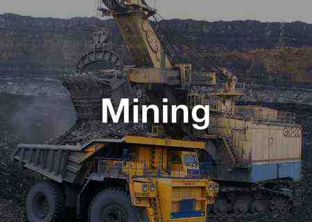 Mining ie. Minerals, Processing and Transport Industry