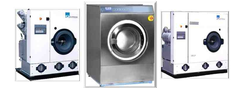 dry cleaning machines, solvents, finishing machines, textile, washing