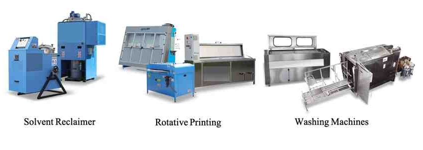 Sustainability, green solvents, reclaims, recycler, washing, printing