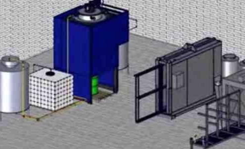 Distillation, Flexible Packaging (packaging) , Coating and Painting, Printing , Recycling, Distillation Printing solvent, Flexibel förpackning, Beläggning och målning, Återvinning av lösningsmedel, ÅterhämtningVäxt