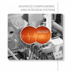 Advance compounding and extrusion systems