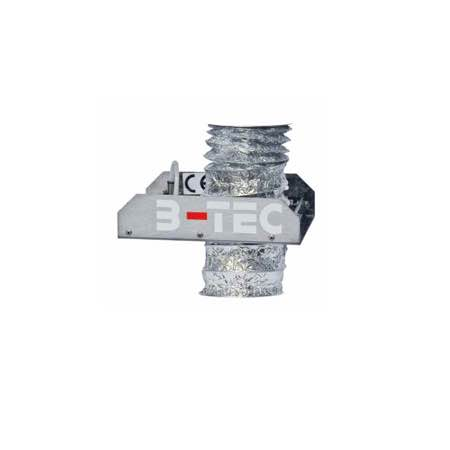 Pneumatic exhaust solvent saver