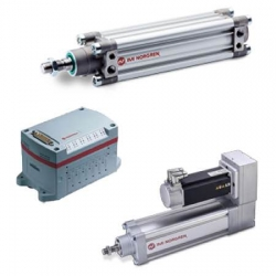 Pneumatic product Sweden - Actuators, Valves, Air preparation equipment, Fittings, Pressure switches and Pneumatic components