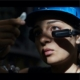 Head mounted tablet, Best industrial smart glasses, Smart glasses hands-free voice control